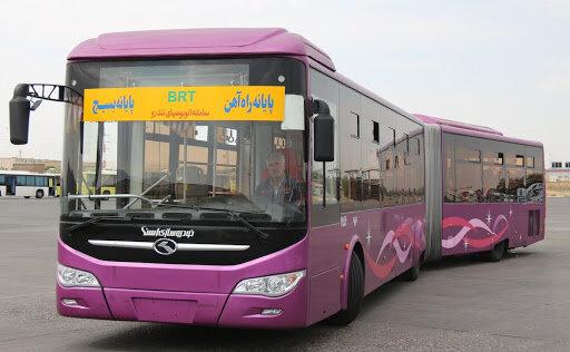 کاهش ساعت کاری و تغییر مسیر تردد اتوبوسرانی تبریز