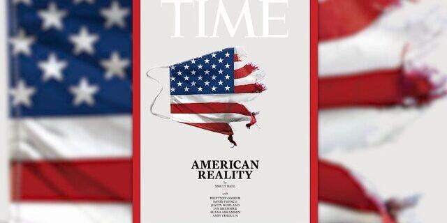 «واقعیت آمریکایی» بر روی جلد مجله «تایم»