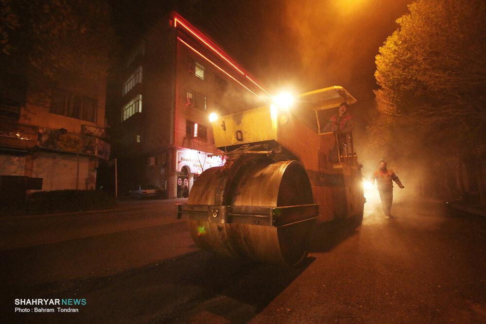 گام بلند شهرداری تبریز در آسفالت خیابان های شهر/ توزیع ۲۷۰۰۰ تن آسفالت طی دوماه اول سال