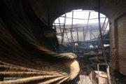 صحنههایی به یادماندنی از آتشنشانان در حادثه بازار تبریز رقم خورد