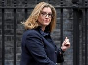 انتصاب یک زن به عنوان وزیر دفاع جدید انگلیس
