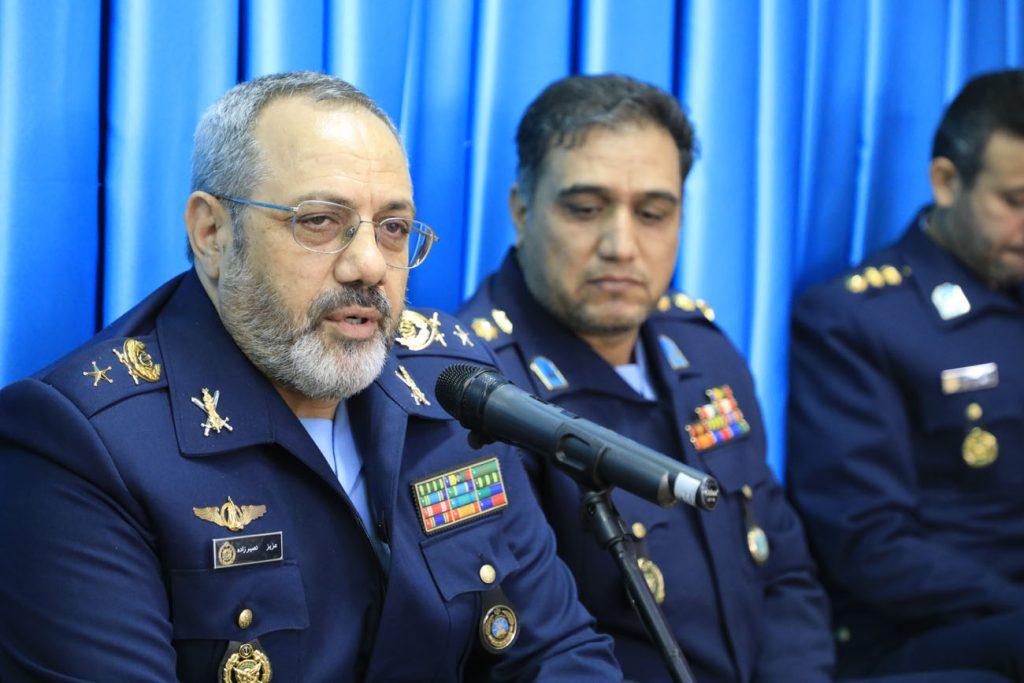فرمانده نیروی هوایی ارتش چگونگی کمک به سیل زدگان را تشریح کرد
