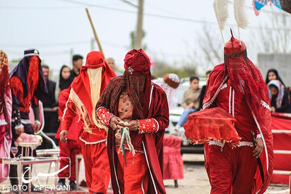 مراسم شبیه خوانی هیئت عاشقان حضرت ابولفضل واقع در قراملک