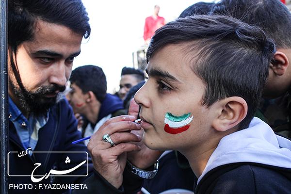 راهپیمایی یوم الله ۱۳ آبان و روز دانش آموز در تبریز