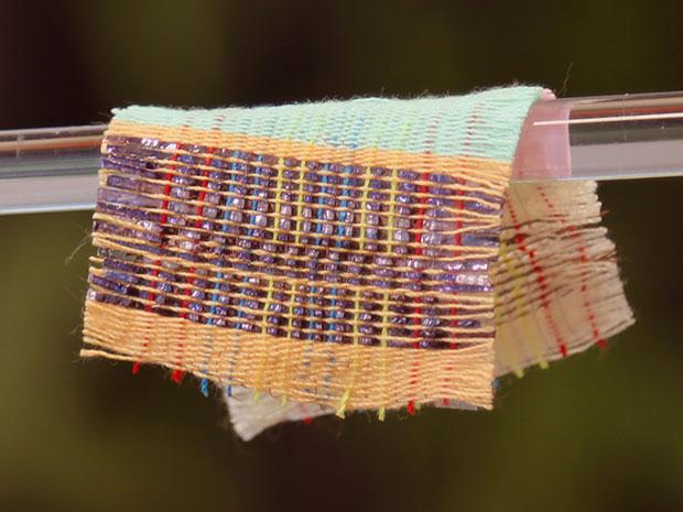 پارچه ای که الکتریسیته تولید می کند