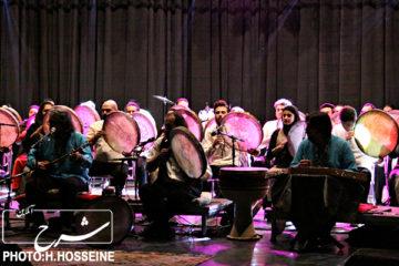 کنسرت دف نوازی سماع در تبریز + عکس