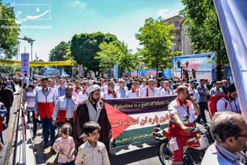قدس 98/ راهپیمایی روز جهانی قدس در تبریز