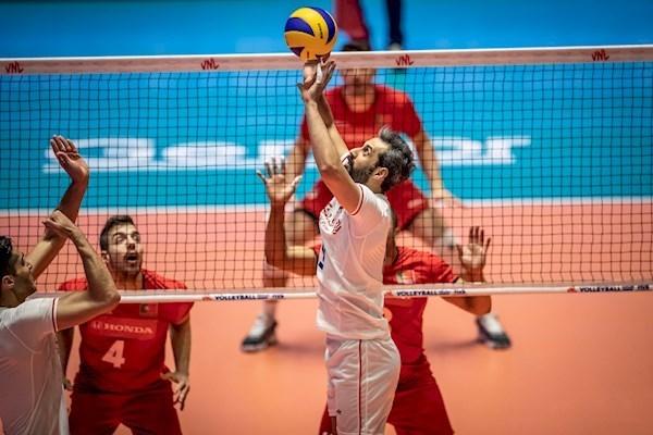 باز پخش والیبال ایران پرتغال