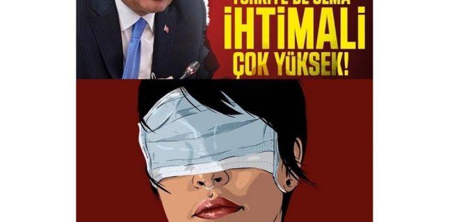 اعتراضات به سانسور خبری کرونا در ترکیه شدت می گیرد