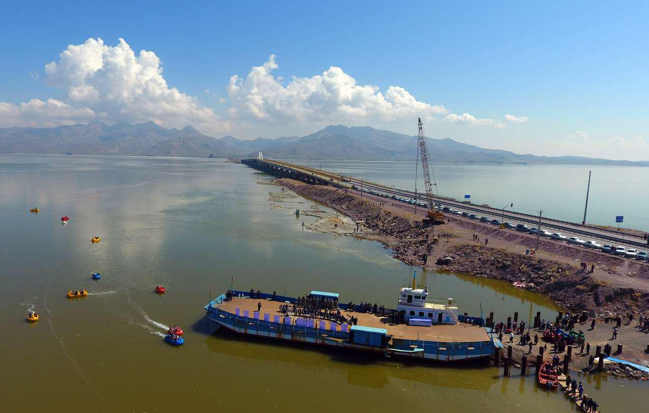 حجم آب دریاچه ارومیه به بیش از ۴ میلیارد مترمکعب رسید