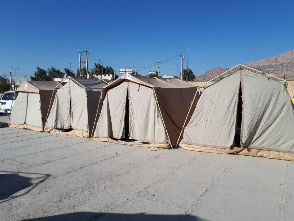۱۲۳ هزار نفر به دور از خانه های خود اسکان یافتند / ۲۳۴ روستا در خوزستان تخلیه شدند