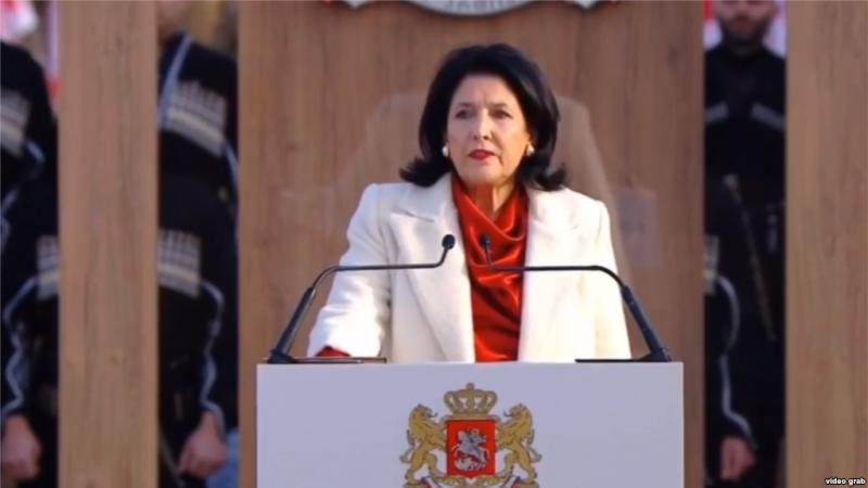مراسم سوگند رییس جمهوری گرجستان برگزار شد