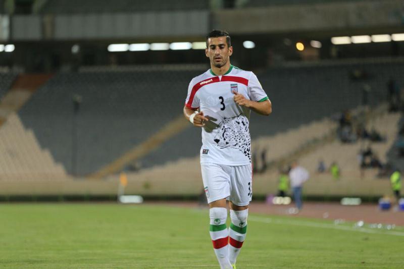 درخشش بازیکن تیم تراکتورسازی در بازی مقابل سوریه