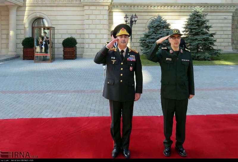 روابط دفاعی و نظامی ایران و جمهوری آذربایجان ارتقا یافت