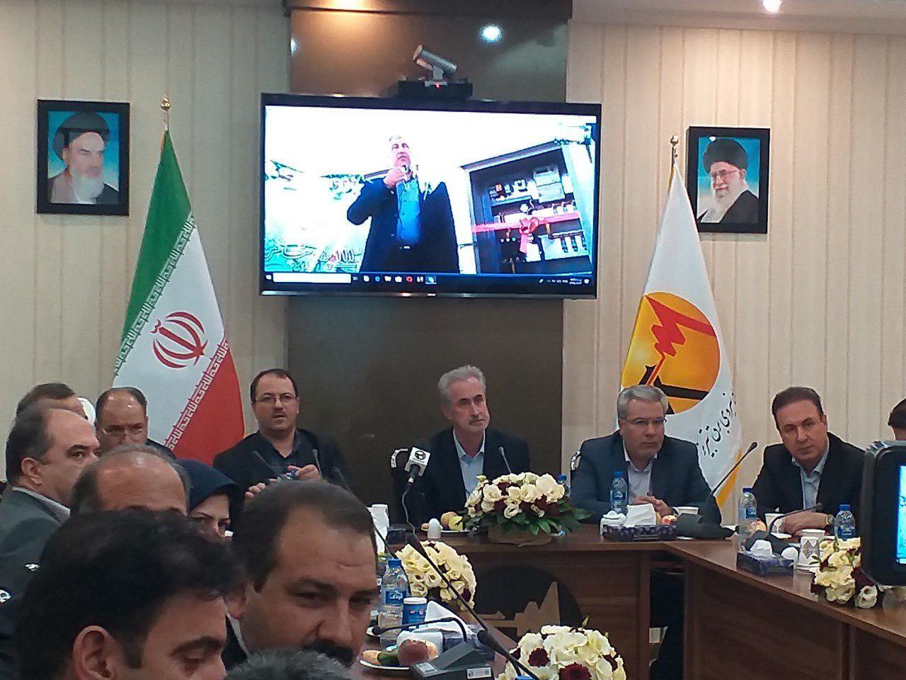 ۱۱۱ پروژه توزیع نیروی برق تبریز همزمان با هفته دولت به بهره برداری رسید