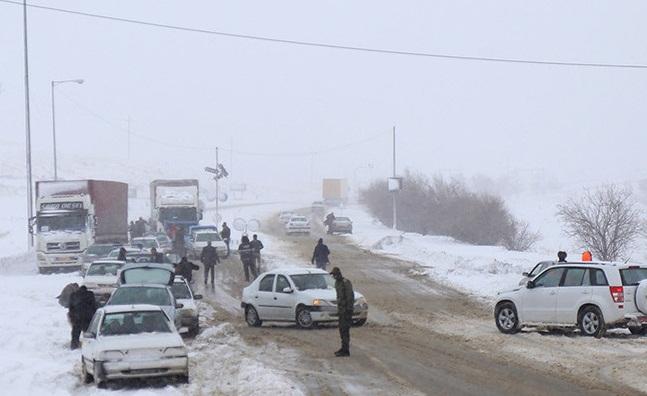راه ارتباطی ۱۲۰ روستای آذربایجان شرقی مسدود است