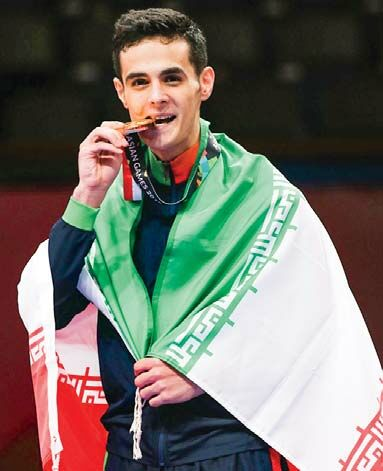 میرهاشم حسینی به نشان طلا دست یافت