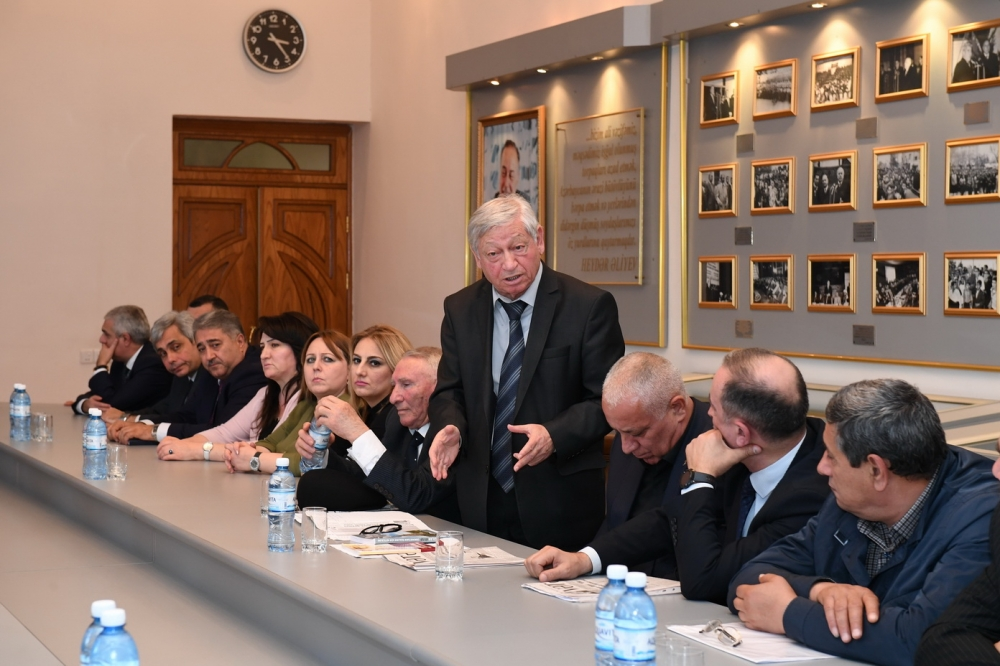Azərbaycan Dövlət Komitəsində Zəngilanın işğalının ildönümü ilə bağlı tədbir keçirilib